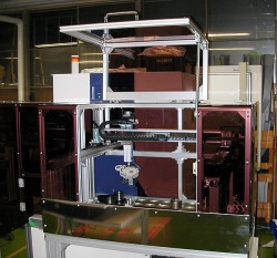 X線検査機試料装填装置(ストッカー付)